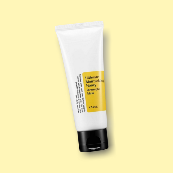 The Cosrx Ultimate Moisturizing Honey Overnight Mask is a mask with pure, natural ingredients with a calming, soothing and hydrating character. Bye to dull and uneven skin tone. Hello to fresh and even complexion overnight.