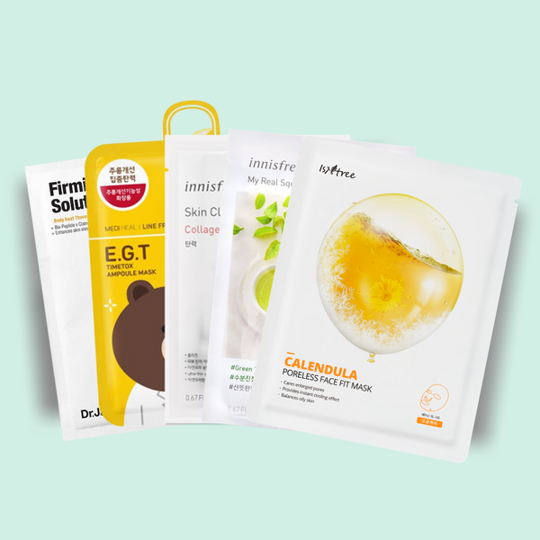 Sheet Mask Set: Pores