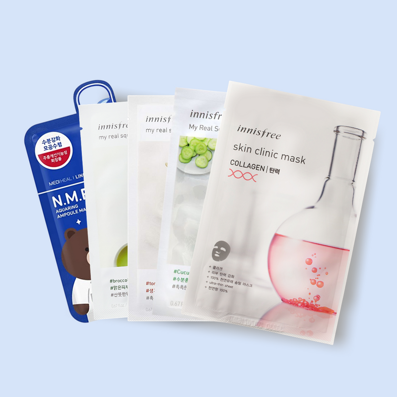 Sheet Mask Set: Nourishing