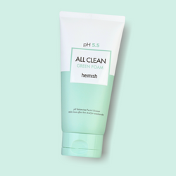 Mild and pH balanced foam that cleanses your skin and gives you a healthy and moisturized complexion. Heimish's All Clean Green Foam is made up of natural active ingredients, such as Centella Asiatica and Witch Hazel, which is known for effectively soothing and mildly clarifying skin.
