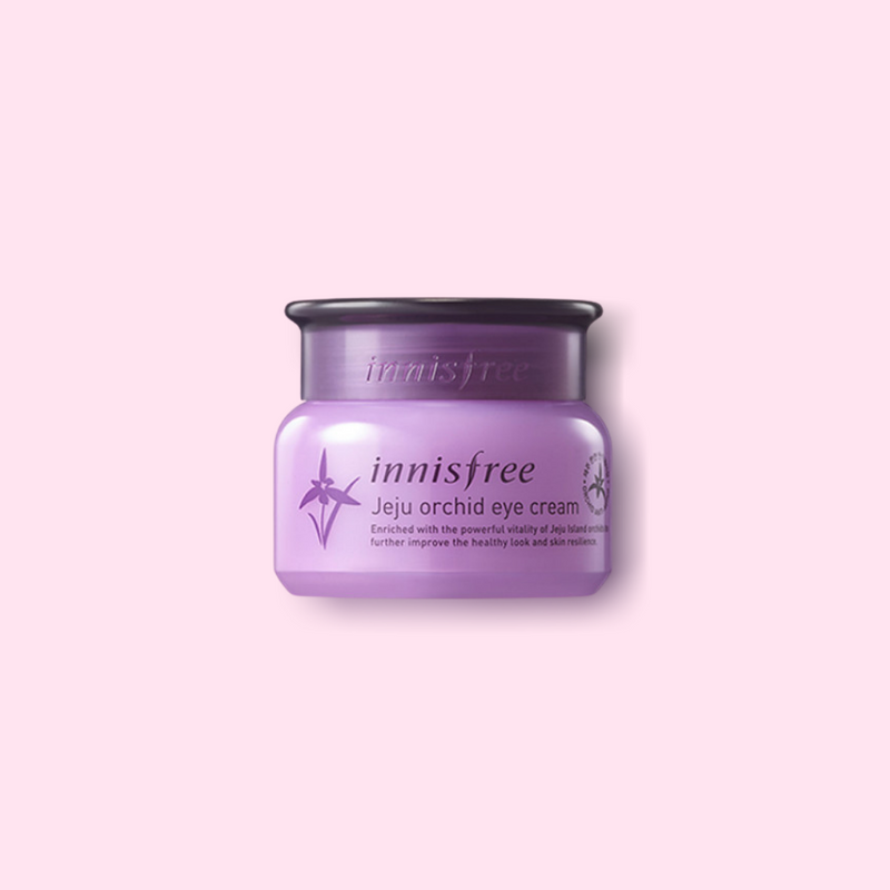 Our Innisfree Jeju Orchid infused eye cream is the perfect hydrating pick-me-up for your eye area. It is formulated with Orchid Extract, which is a potent antioxidant that keeps dryness and dullness at bay.