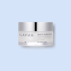 Klavuu White Pearlisation Completed Revitalizing Pearl Eye cream is formulated with the miracle of pearl and the power of the seaweed complex, which nourishes the skin in its complexity and provides shine.