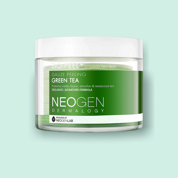 If you love head-to-toe for our NEOGEN Bio-Peel Gauze Peeling Wine, you should give this Neogen Bio-Peel Gauze Peeling Green Tea a try.    It comes with 30 single-use exfoliating pads, which are made with one of the most unique innovations in the skincare industry, 3 layer pad technology.