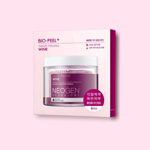 Neogen Bio-Peel Gauze Peeling Wine is the perfect exfoliator for those who love chemical or manual exfoliation and a cult-favorite among K-beauty lovers. Its superstar ingredient, Resveratrol, is from red wine and is fermented, meaning that it contains naturally occurring Alpha Hydroxy Acid (AHA).