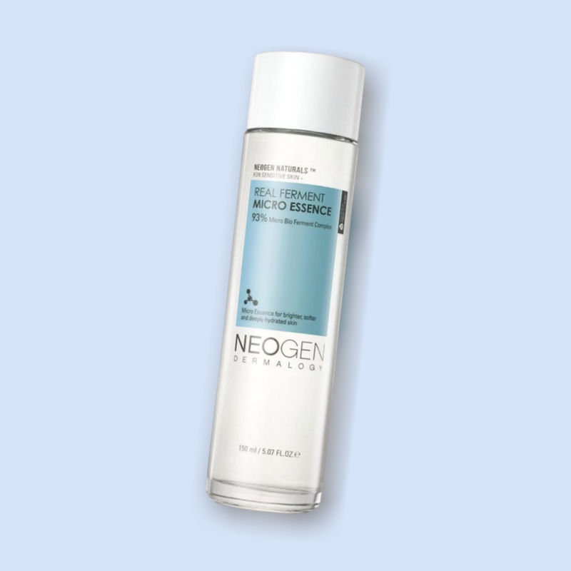This Real Ferment Micro Essence is no exception to our list of favorites from NEOGEN. This product is formulated with more than 93% of a micro bio-fermented complex of ingredients including Bifida ferment lysate, and 28% Saccharomyces ferment filtrate, to boost instant skin hydration and plumping benefits.