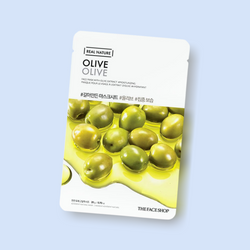 The Real Nature Face Mask Olive leaves skin supple and smooth in an instant. The mask contains olive extract to provide intense hydration as it nourishes the epidermis.