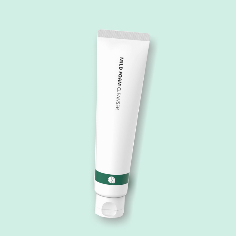 The Vegan Glow  Mild Foam Cleanser is an efficient, safe, and mild foam cleanser. Components such as coconut-derived surfactants will effectively and gently cleanse your skin while maintaining a minimalistic formulation.