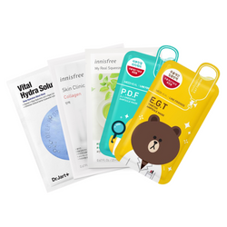 Brightening Sheet Masks Set