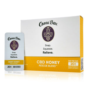 Bee Delightful - Canna Bees Snap Pack CBD Honey (30 Count Case)
