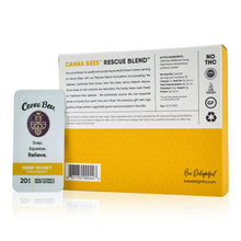 Load image into Gallery viewer, Bee Delightful - Canna Bees Snap Pack CBD Honey (30 Count Case) - Back of Package