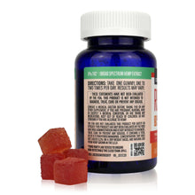 Load image into Gallery viewer, CBDistillery Broad Spectrum CBD Gummies (30mg - 30ct) - Directions