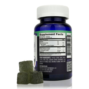 CBDistillery - Broad Spectrum CBD Gummies for Night Time (30mg - 30 Count) - Supplement Facts