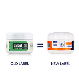 CBDistillery CBDol Topical CBD Salve - New Packaging