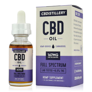 CBDistillery Full Spectrum CBD Oil (5000mg - 167mg/ml)