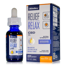 Load image into Gallery viewer, CBDistillery - Full Spectrum CBD Oil - Extra Strength - 1000mg - 33mg per ml