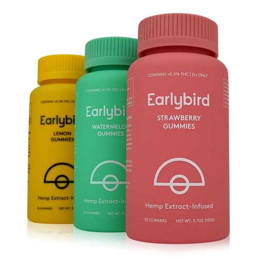 Earlybird CBD - Full Spectrum CBD Gummies - 3 pack