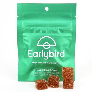 Earlybird CBD - Full Spectrum CBD Gummies - Watermelon - 4 Pack