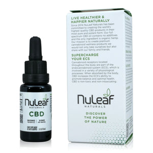 Nuleaf Full Spectrum CBD Oil (900mg, 60mg/ml) - About