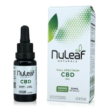 Load image into Gallery viewer, Nuleaf Full Spectrum CBD Oil (900mg, 60mg/ml)