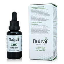 Load image into Gallery viewer, Nuleaf Naturals Full Spectrum CBD Tincture (1,800mg - 30ml) - About