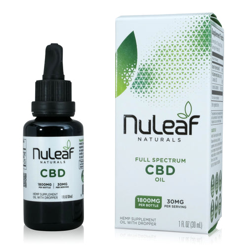 Nuleaf Naturals Full Spectrum CBD Tincture (1,800mg - 30ml)