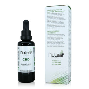 Nuleaf Naturals Full Spectrum CBD Oil (50ml, 60mg/ml) - About