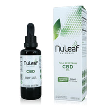 Load image into Gallery viewer, Nuleaf Naturals Full Spectrum CBD Oil (50ml, 60mg/ml)