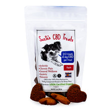 Load image into Gallery viewer, Suzie's CBD Dog Treats - Apple (20 count / 4mg per treat)
