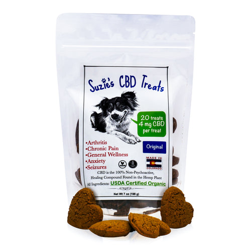 Suzie's CBD Dog Treats - Original (20 count / 4mg per treat)