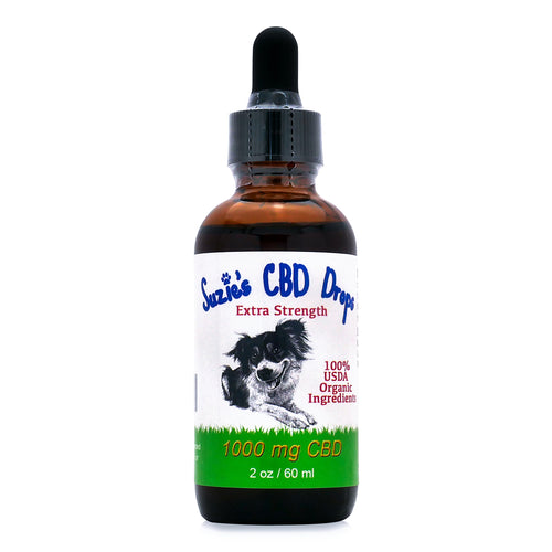 Suzie's CBD Drops for Dogs (1000mg - 60ml)
