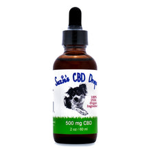 Load image into Gallery viewer, Suzie's CBD Drops for Dogs (500mg - 60ml)