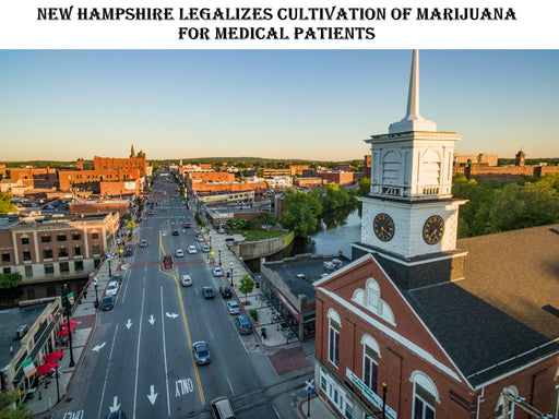 House Of Representatives Override Marijuana Law In New Hampshire
