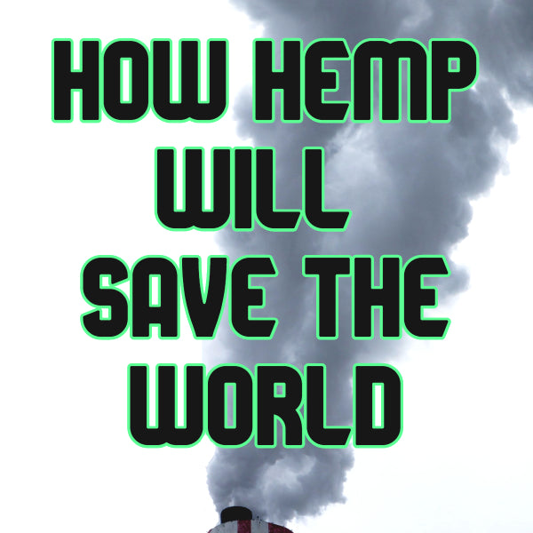 how hemp will save the world from fossil fuels hemp is a carbon sink