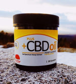 Plus CBD Oil Gummies. Cherry Mango Flavored. Made From Full Spectrum Hemp