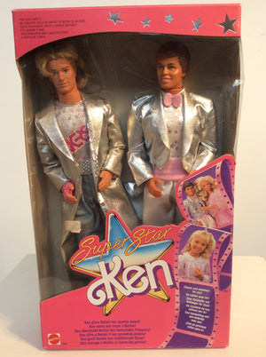 Mattel Barbie vintage, super star Ken