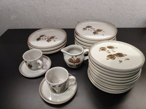 Servies - Grès de l'Arnon - Set