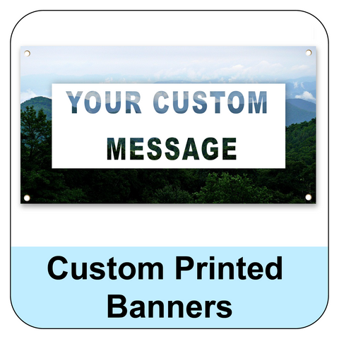 Custom Printed Banner Order Form