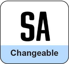 Changeable Letters and Rails Systems