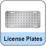 License Plate Blanks Product Category