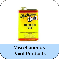 Misc Paint Products