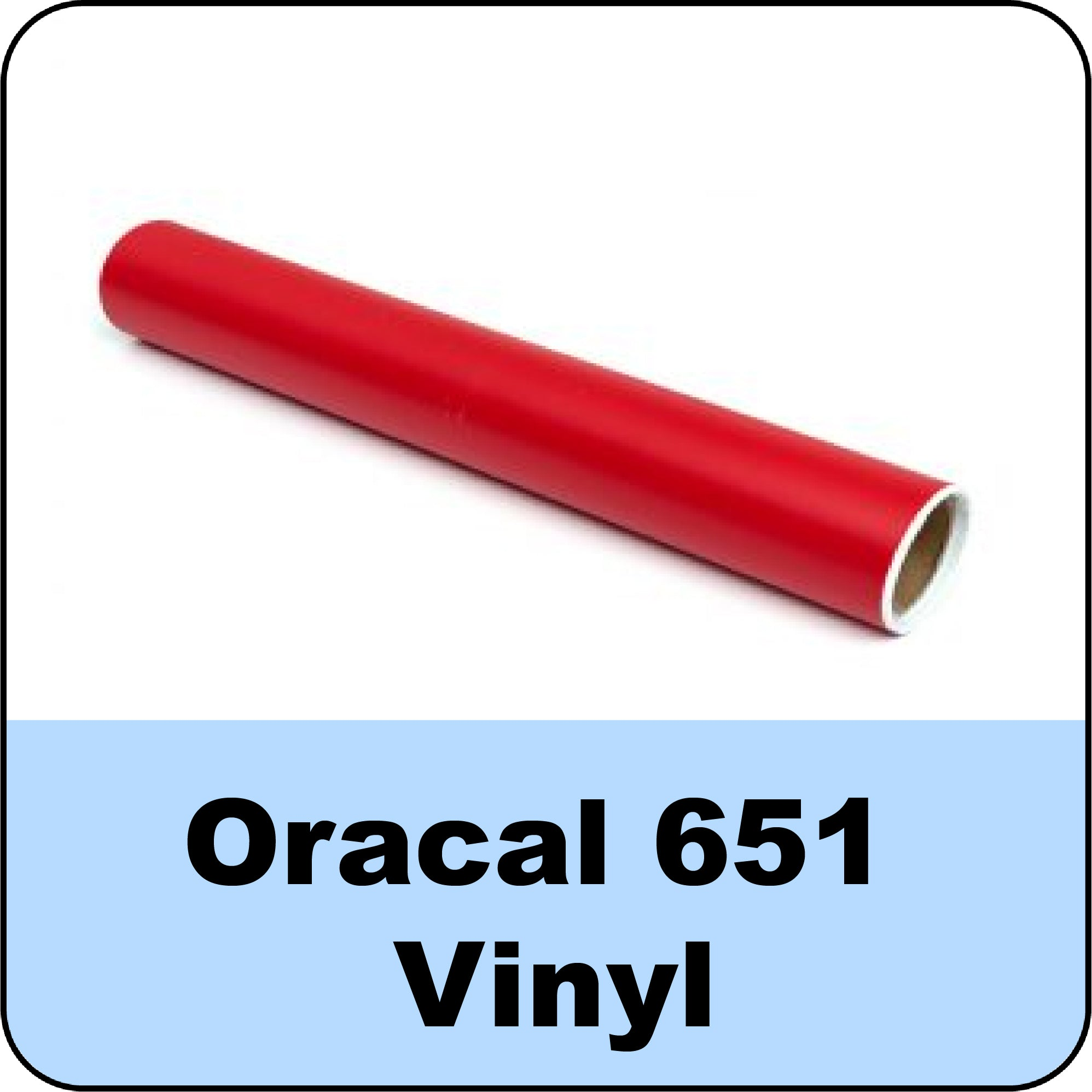 Oracal 651 Calendered Vinyl