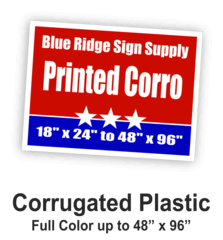 Corrugated Plastic Wholesale Printing Services