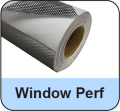 Window Perf Print Media