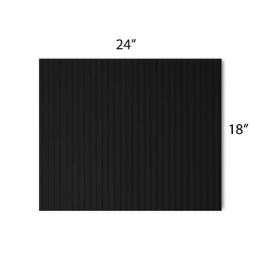 "Corrugated Plastic Blanks 24"" x 18"" x 4mm"