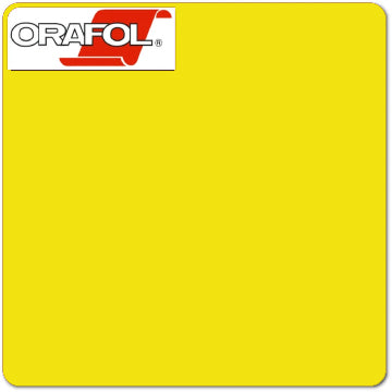 Brimstone Yellow Oracal (025) 24""