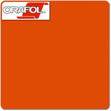 Orange Oracal (034) 24""