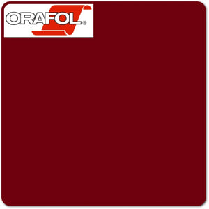 Burgundy Oracal (312) 24""