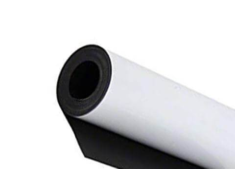 "Magnetic Roll White 24"" x 25' x .030"""