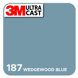 Wedgewood Blue (187) 3M Ultra™ Cast