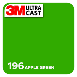Apple Green (196) 3M Ultra™ Cast
